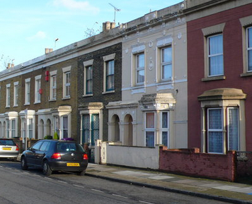 East london houses