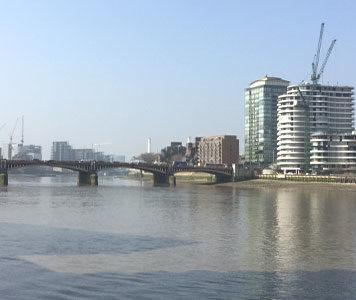London, river thames