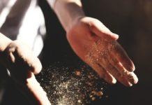 dust particles