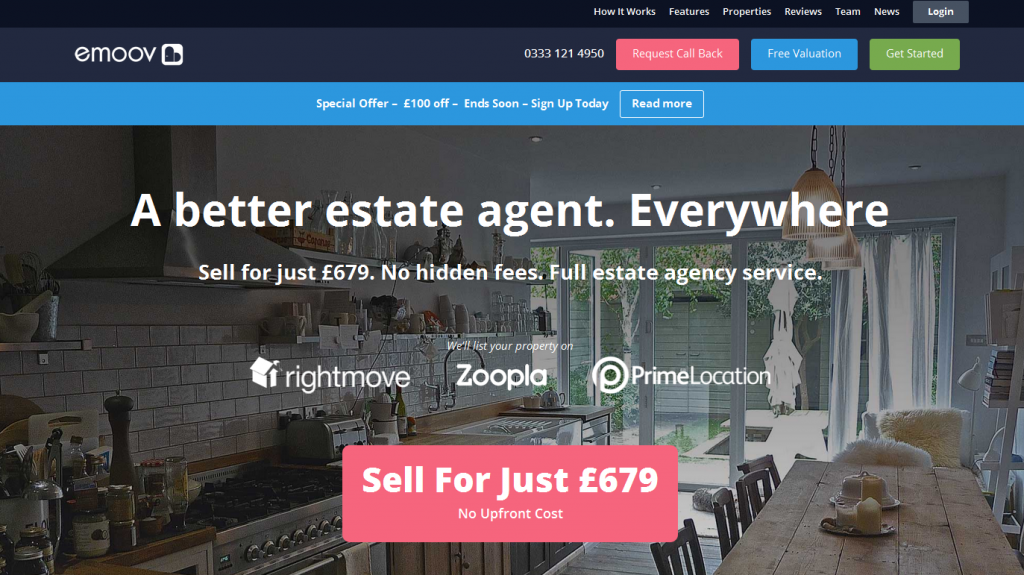 Online Estate Agents emoov