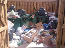Dumped Rubbish In Communal Areas