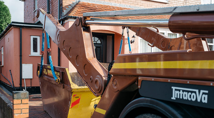 ordering a skip for your home construction project